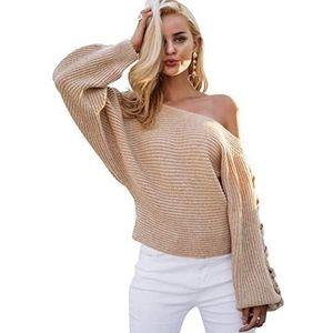 Sweaters - Oversized Knit Sweater